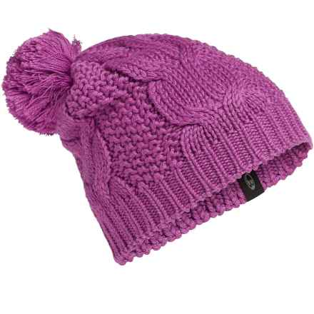 Icebreaker Boreal Beanie - UPF 20+, Merino Wool (For Men and Women) in Sweetpea - Closeouts