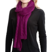 Icebreaker Boreal Scarf - Merino Wool, UPF 20+ (For Men and Women) in Vivid - Closeouts