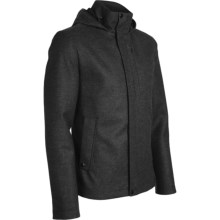 Icebreaker Boulder Hooded Jacket - Merino Wool (For Men) in Oxide - Closeouts