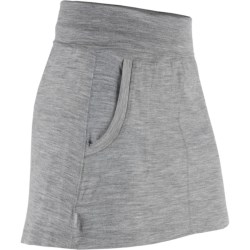 Icebreaker Breeze Skirt - UPF 30+, Merino Wool (For Women) in Metro