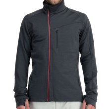 Icebreaker Carve GT 320 Shirt - Full Zip, Long Sleeve (For Men) in Monsoon - Closeouts