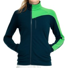Icebreaker Carve GT 320 Shirt - UPF 50+, Merino Wool, Long Sleeve (For Women) in Eclipse/Turf - Closeouts