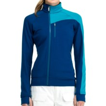 Icebreaker Carve GT 320 Shirt - UPF 50+, Merino Wool, Long Sleeve (For Women) in Isle/Gulf - Closeouts