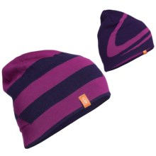 Icebreaker Carve Reversible Beanie Hat - Merino Wool (For Men) in Lotus/Magenta - Closeouts