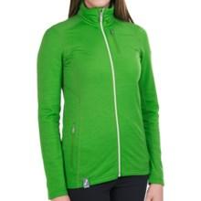 Icebreaker Cascade RealFleece 260 Jacket - UPF 20+, Merino Wool, Full Zip (For Women) in Frond/Metro Heather - Closeouts