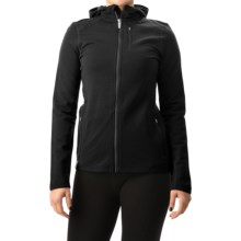 Icebreaker Cascade RealFLEECE Hoodie - Merino Wool (For Women) in Black/Black - Closeouts