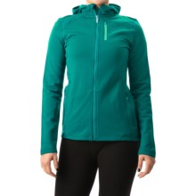 Icebreaker Cascade RealFLEECE Hoodie - Merino Wool (For Women) in Nautical/Patina/Patina - Closeouts
