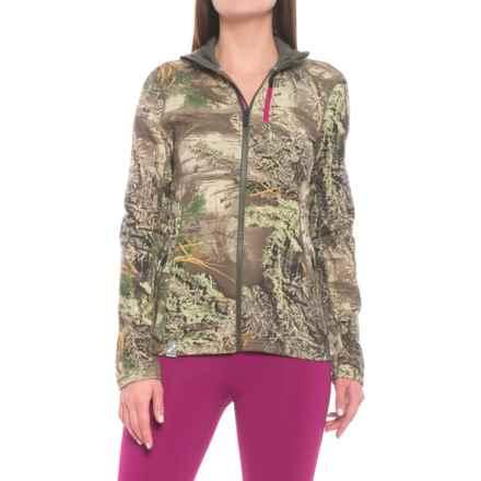 Icebreaker Cascade Realtree® Jacket (For Women) in Realtree Max/Cargo/Magenta - Closeouts