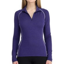 Icebreaker Chakra Skin 200 Base Layer Top - Lightweight, Merino Wool, Long Sleeve (For Women) in Horizon - Closeouts