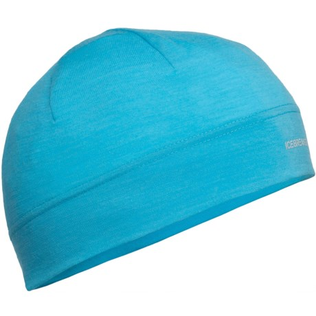 Icebreaker Chase Beanie Hat - Merino Wool, Lightweight (For Men and Women) in Glacier