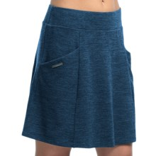 Icebreaker Chateau Skirt - UPF 20+, Merino Wool (For Women) in Equinox Heather - Closeouts