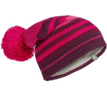 Icebreaker Chateau Slouchy Beanie - Merino Wool (For Men and Women) in Vino/Raspberry/Maroon - Closeouts