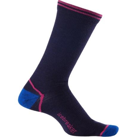 Icebreaker City Ultralite Crew Socks - Merino Wool (For Men) in Admiral/Cadet/Cherub