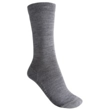 Icebreaker City Ultralite Crew Socks - Merino Wool (For Women) in Twister - 2nds