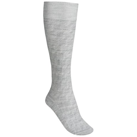 Icebreaker City Ultralite Kelple Socks - Merino Wool, Over-the-Calf (For Women) in Blizzard