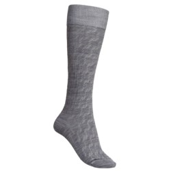 Icebreaker City Ultralite Kelple Socks - Merino Wool, Over-the-Calf (For Women) in Silk