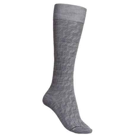 Icebreaker City Ultralite Kelple Socks - Merino Wool, Over-the-Calf (For Women)