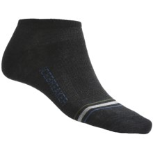 Icebreaker City Ultralite Low-Cut Socks - Merino Wool (For Men) in Jet - 2nds
