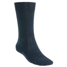 Icebreaker City Ultralite Trojan Crew Socks - Merino Wool (For Men) in Ink - Closeouts
