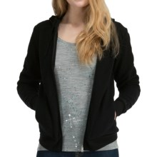 Icebreaker City260 Lily Hoodie Sweatshirt - Merino Wool, Full Zip (For Women) in Black - Closeouts