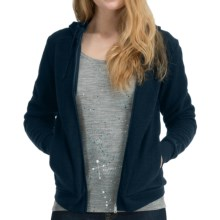 Icebreaker City260 Lily Hoodie Sweatshirt - Merino Wool, Full Zip (For Women) in Eclipse - Closeouts