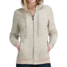 Icebreaker City260 Lily Hoodie Sweatshirt - Merino Wool, Full Zip (For Women) in Fawn - Closeouts