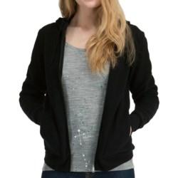 Icebreaker City260 Lily Sweatshirt - Merino Wool, Full Zip (For Women) in Black