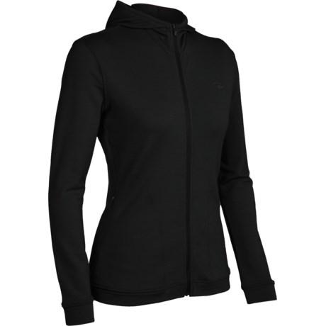 Icebreaker City260 Villa Shirt - Hooded, Long Sleeve (For Women) in Black