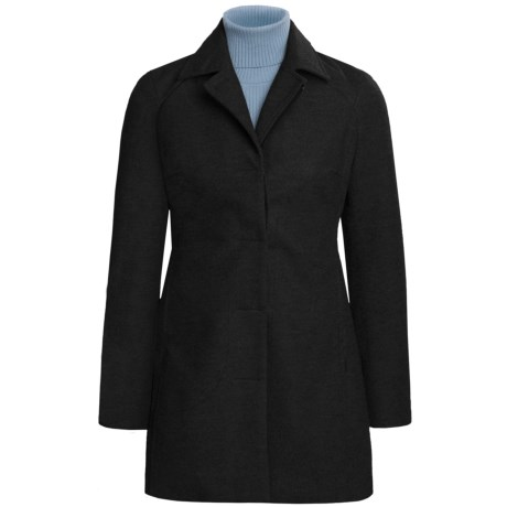 Icebreaker Coastal Mayfair Jacket (For Women) in Black