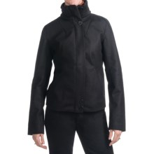 Icebreaker Coastal Odyssey Jacket - Merino Wool (For Women) in Black - Closeouts