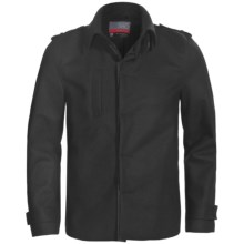 Icebreaker Coastal Outpost Jacket - Merino Wool (For Men) in Black - Closeouts