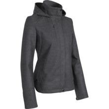 Icebreaker Coastal Paramount Hooded Jacket - Merino Wool (For Women) in Oxide - Closeouts