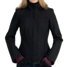 Icebreaker Coastal Skyline Jacket - Merino Wool, UPF 50+ (For Women) in Black - Closeouts