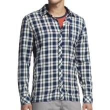Icebreaker Compass II Plaid Shirt - Merino Wool, UPF 20+, Long Sleeve (For Men) in Admiral - Closeouts