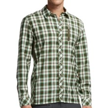 Icebreaker Compass II Plaid Shirt - Merino Wool, UPF 20+, Long Sleeve (For Men) in Cedar - Closeouts