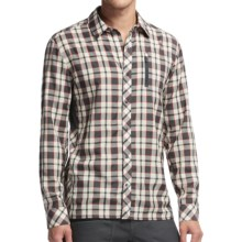 Icebreaker Compass II Plaid Shirt - Merino Wool, UPF 20+, Long Sleeve (For Men) in Monsoon - Closeouts