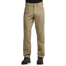 Icebreaker Compass Pants - Merino Wool, UPF 20+ (For Men) in Desert/Tobacco - Closeouts