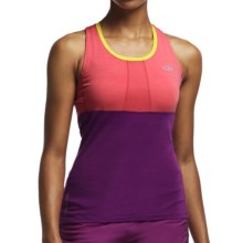 Icebreaker Cool-Lite Spark Tank Top - UPF 30+, Merino Wool (For Women) in Grapefruit/Vivid/Fuse - Closeouts