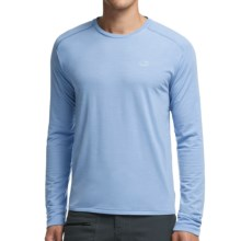 Icebreaker Cool-Lite Sphere Shirt - UPF 30+, Merino Wool, Long Sleeve (For Men) in Brook Heather - Closeouts