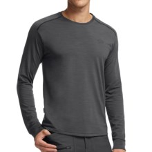 Icebreaker Cool-Lite Sphere Shirt - UPF 30+, Merino Wool, Long Sleeve (For Men) in Monsoon Heather/Monsoon Heather - Closeouts