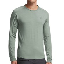 Icebreaker Cool-Lite Sphere Shirt - UPF 30+, Merino Wool, Long Sleeve (For Men) in Shale Heather/Shale Heather - Closeouts