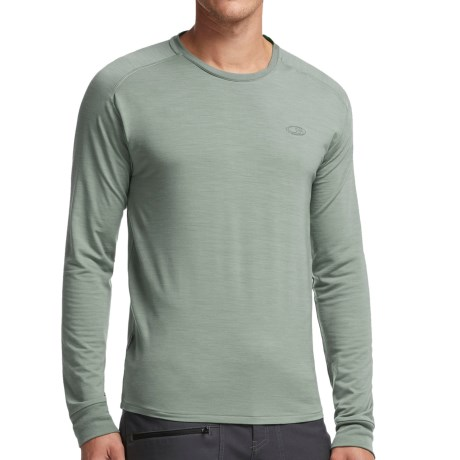 Icebreaker Cool Lite Sphere Shirt UPF 30+, Merino Wool, Long Sleeve (For Men)