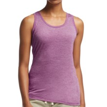 Icebreaker Cool-Lite Sphere Stripe Tank Top - UPF 30+, Merino Wool (For Women) in Vivid/Snow - Closeouts