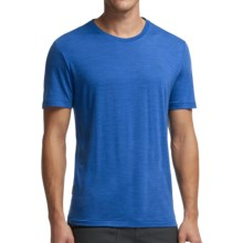 Icebreaker Cool-Lite Sphere T-Shirt - UPF 30+, Merino Wool, Short Sleeve (For Men) in Cadet Heather - Closeouts