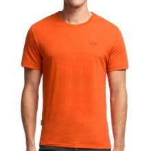 Icebreaker Cool-Lite Sphere T-Shirt - UPF 30+, Merino Wool, Short Sleeve (For Men) in Spark Heather - Closeouts