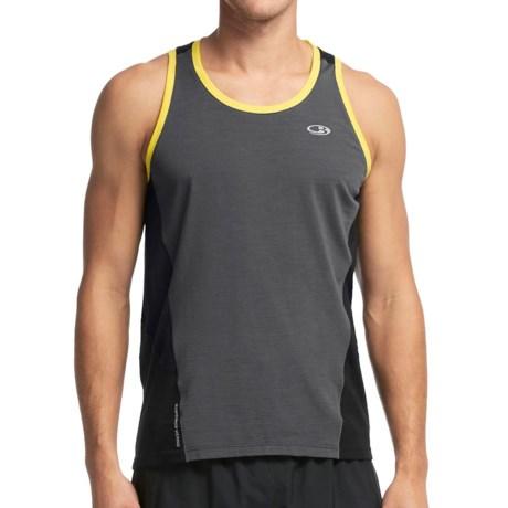 Icebreaker Cool Lite Strike Shirt UPF 30+, Merino Wool, Sleeveless (For Men)