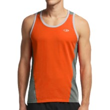 Icebreaker Cool-Lite Strike Shirt - UPF 30+, Merino Wool, Sleeveless (For Men) in Spark/Metal/Lunar - Closeouts