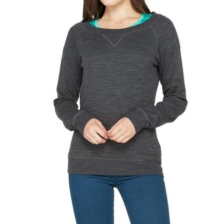 Icebreaker Crave Sweater Merino Wool, UPF 20+ (For Women)