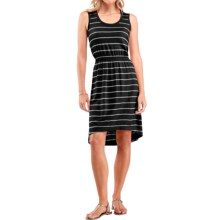 Icebreaker Crush 200 Stripe Dress - UPF 30+, Merino Wool, Sleeveless (For Women) in Black/Metro Heather - Closeouts