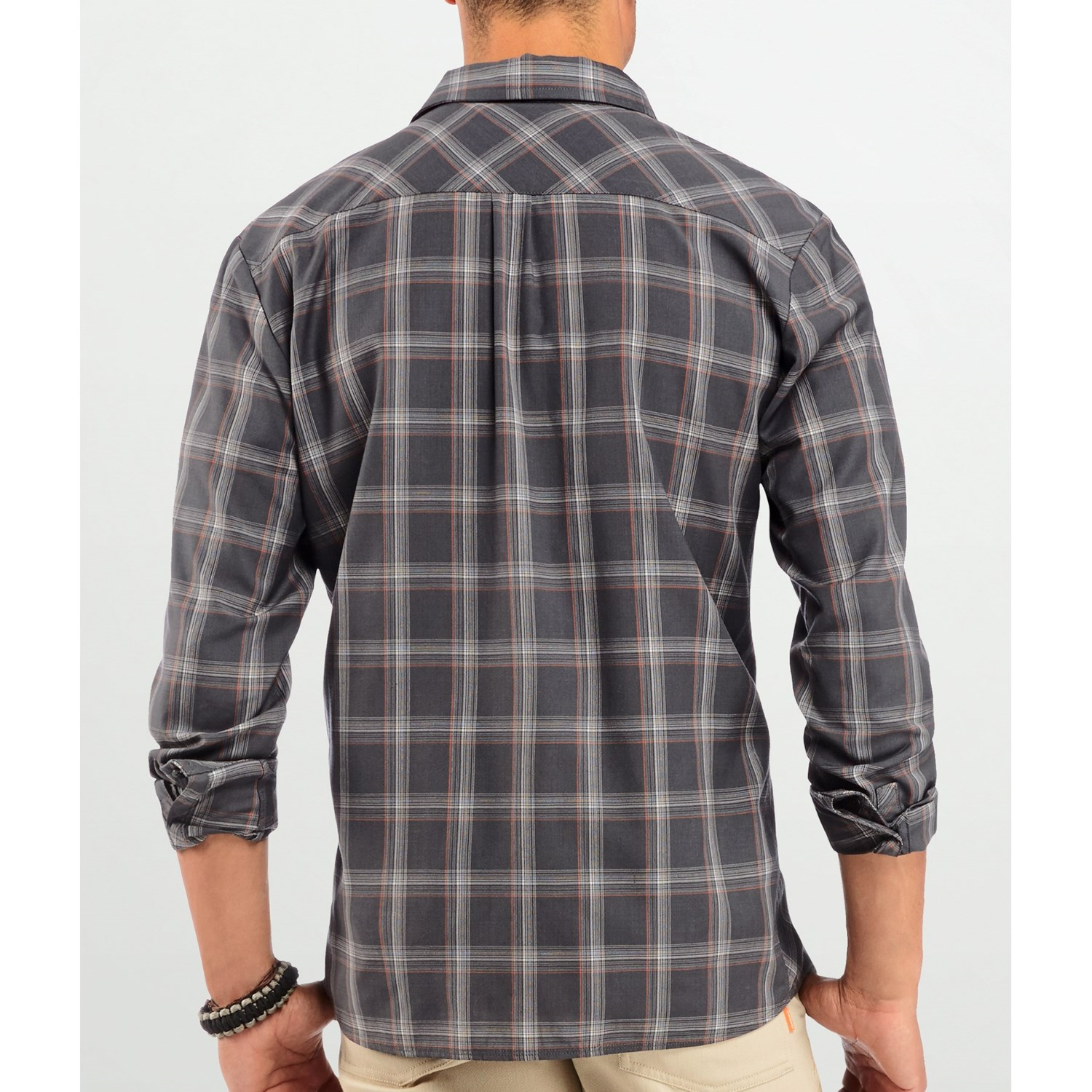 icebreaker departure plaid shirt for men 8114m save 71. Black Bedroom Furniture Sets. Home Design Ideas